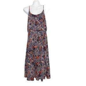 ANN TAYLOR LOFT Patterned Strapless Dress